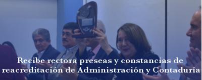 Banner: Reacreditación Administración y Contaduría