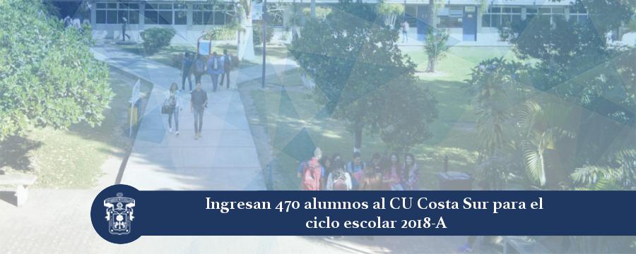 Banner: Alumnos admitidos 2018-A