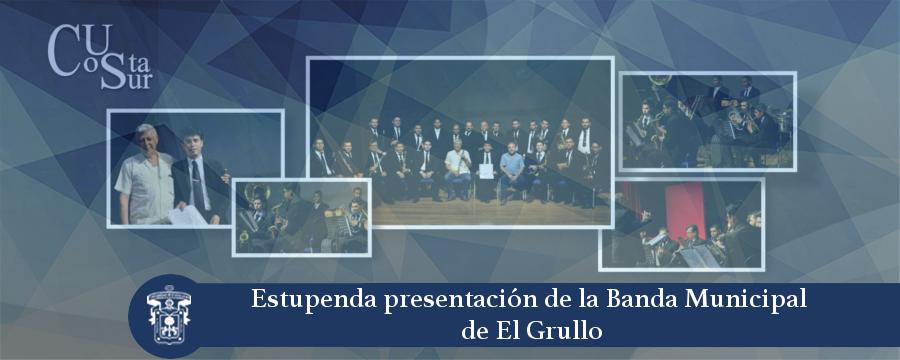 Banner: Banda Sinfónica El Grullo