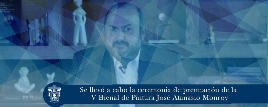 Ceremonia de premiación de la V Bienal de Pintura José Atanasio Monroy