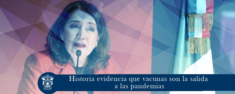 Historia evidencia que vacunas son la salida a las pandemias