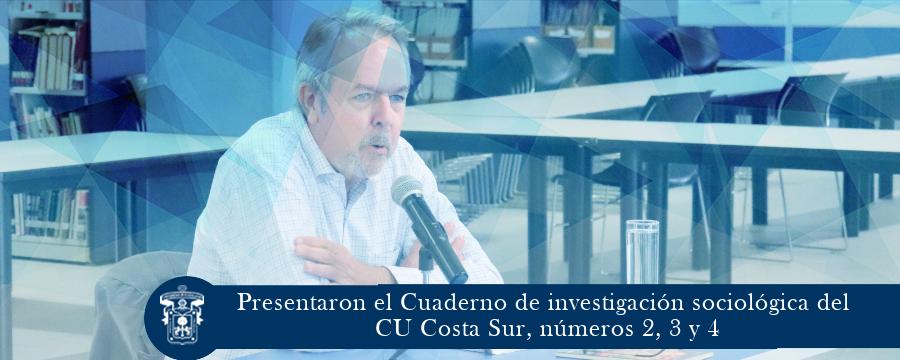 Presentaron el Cuaderno de investigación sociológica del CU Costa Sur