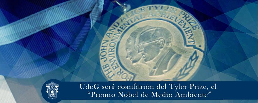 """UdeG será coanfitrión del Tyler Prize, """"Premio Nobel de Medio Ambiente"""""""