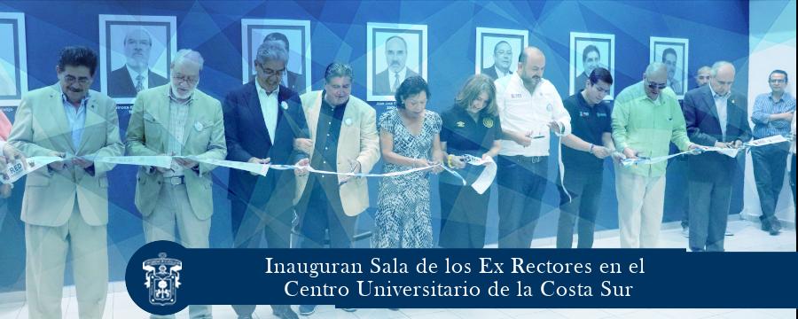 Inauguran Sala de los Ex Rectore CUCSUR