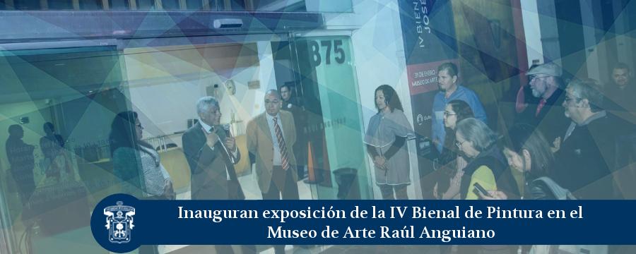 Banner: Exposición Bienal MURA