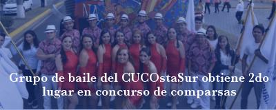 Banner: Grupo de baile del CUCostaSur