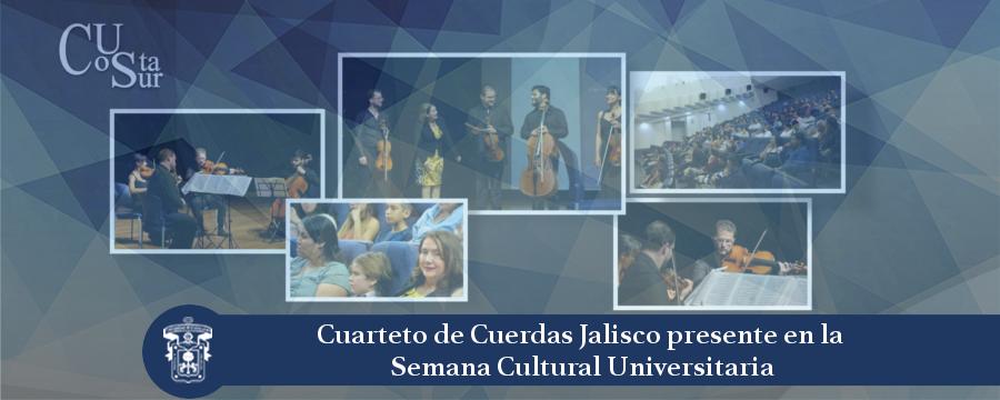 Banner: Concierto cuarteto