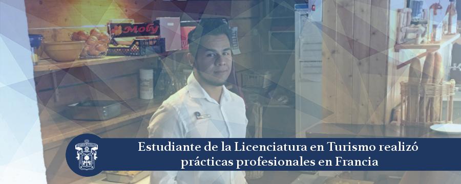 Banner: Prácticas Profesionales de Estudiante de Turismo en Francia