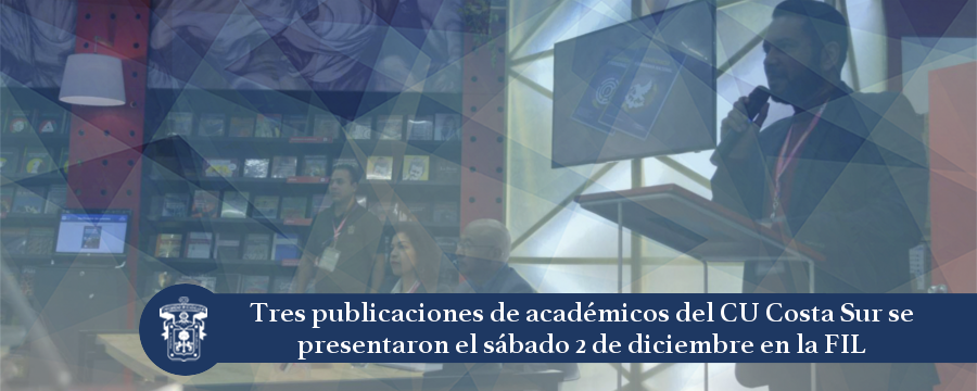Banner: Presentación tres libros
