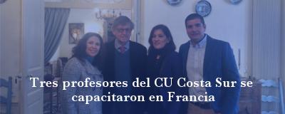 Banner: Profesores de capacitan en Francia