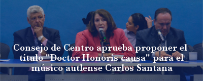 Banner: Honoris causa