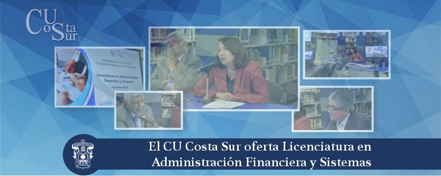 Banner: Licenciatura en Administración Financiera y Sistemas