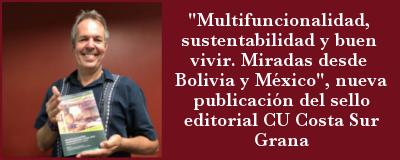Banner: Nuevo libro sello editorial CU Costa Sur Grana