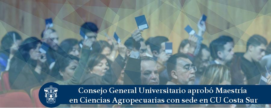 Nota: Maestría Ciencias Agropecuarias