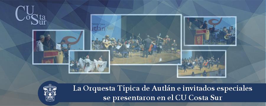 Banner: Orquesta típica de Autlán