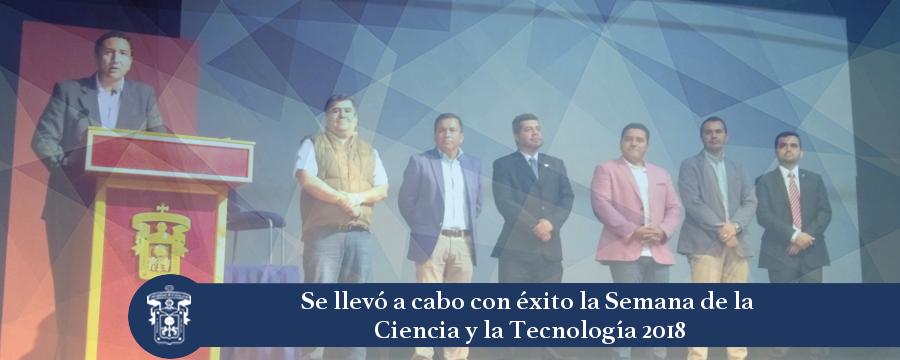 Nota:  Semana Ciencia y Tecnología 2018