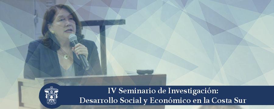 Banner: IV Seminario de Investigación