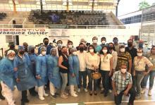Con 4311 vacunas contra Covid-19 aplicadas concluyó jornada en el Módulo del CU Costa Sur