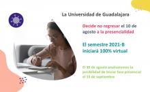Anuncia UdeG regreso a clases cien por ciento virtual