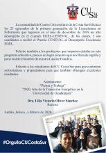 23 egresados de la Lic. en Enfermería aprueban el examen EGEL-CENEVAL