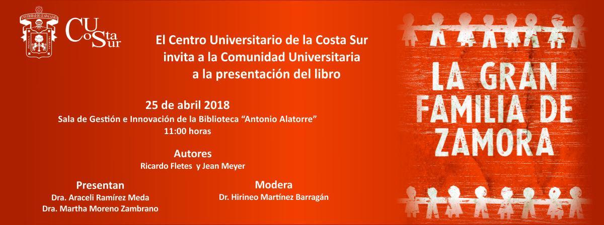 Banner: Presentación de Libro