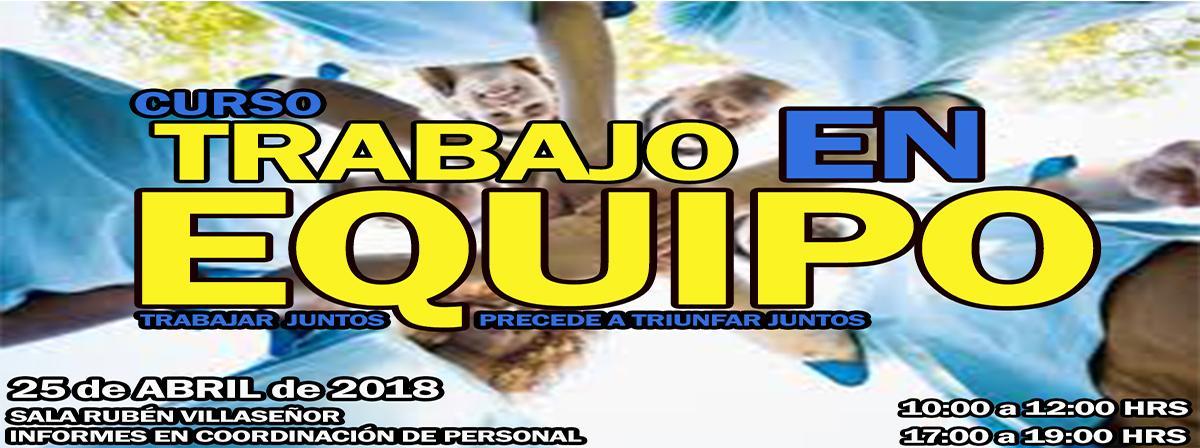 Banner: Curso Trabajo en Equipo